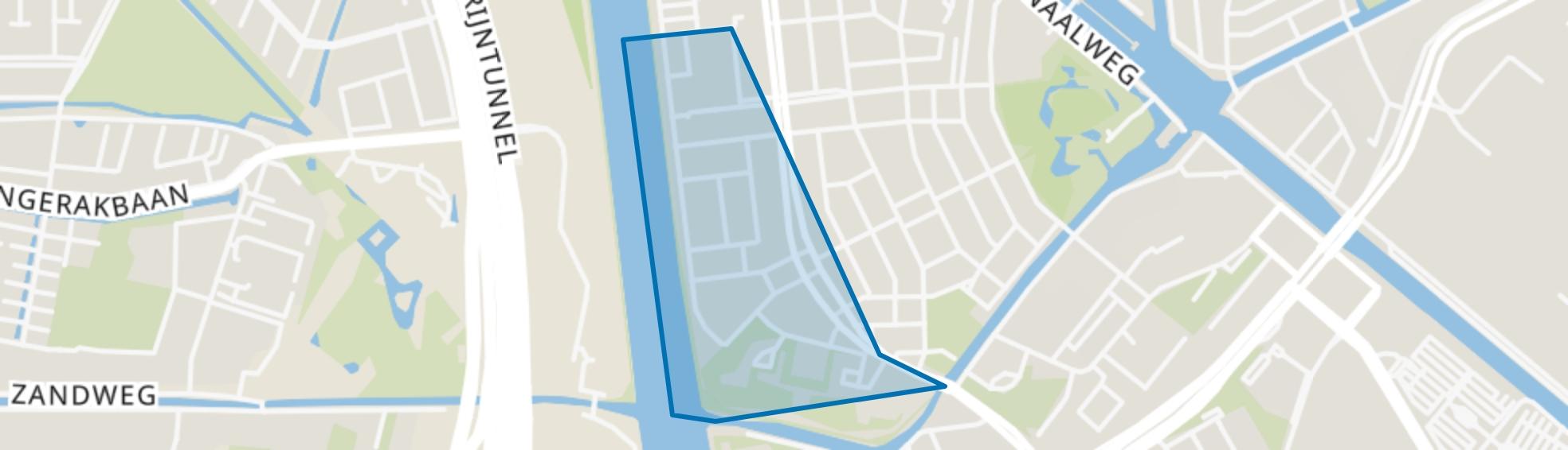 Halve Maan-Zuid, Utrecht map