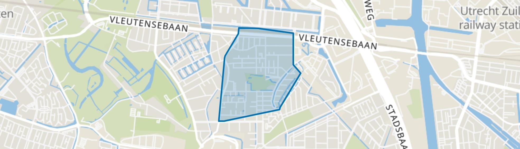 Het Zand-Oost, Utrecht map