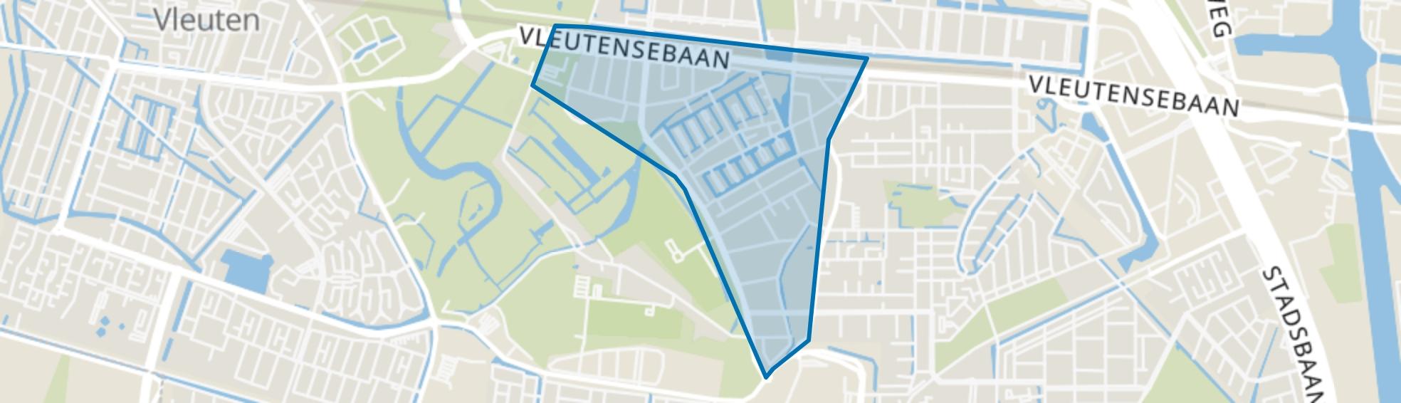 Het Zand-West, Utrecht map