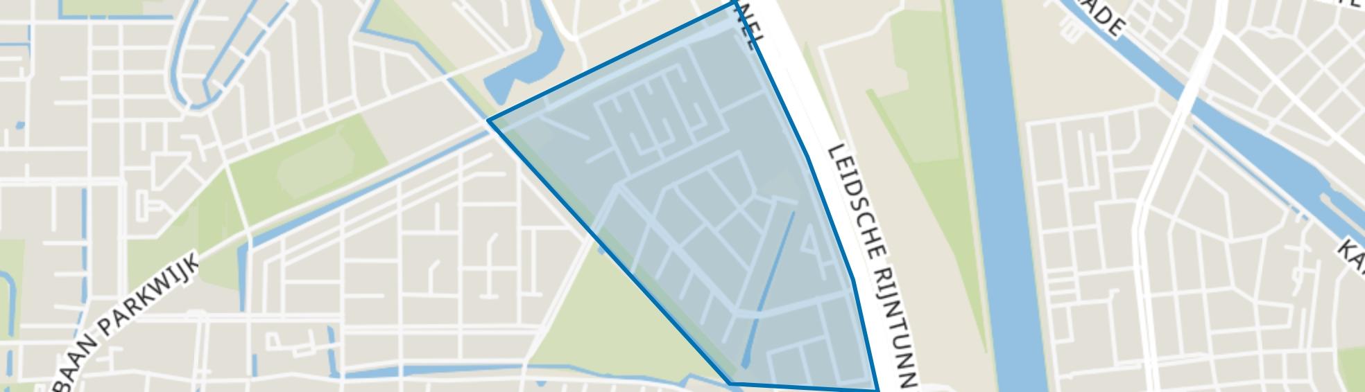 Hoge Weide, Utrecht map