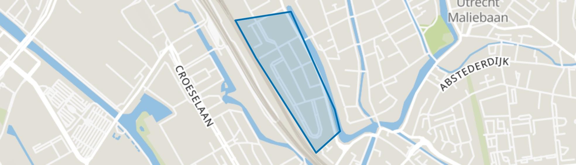 Hooch Boulandt, Utrecht map