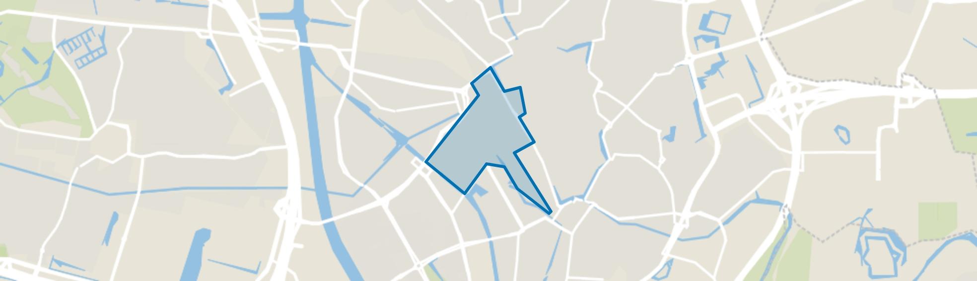 Hoog-Catharijne NS en Jaarbeurs, Utrecht map