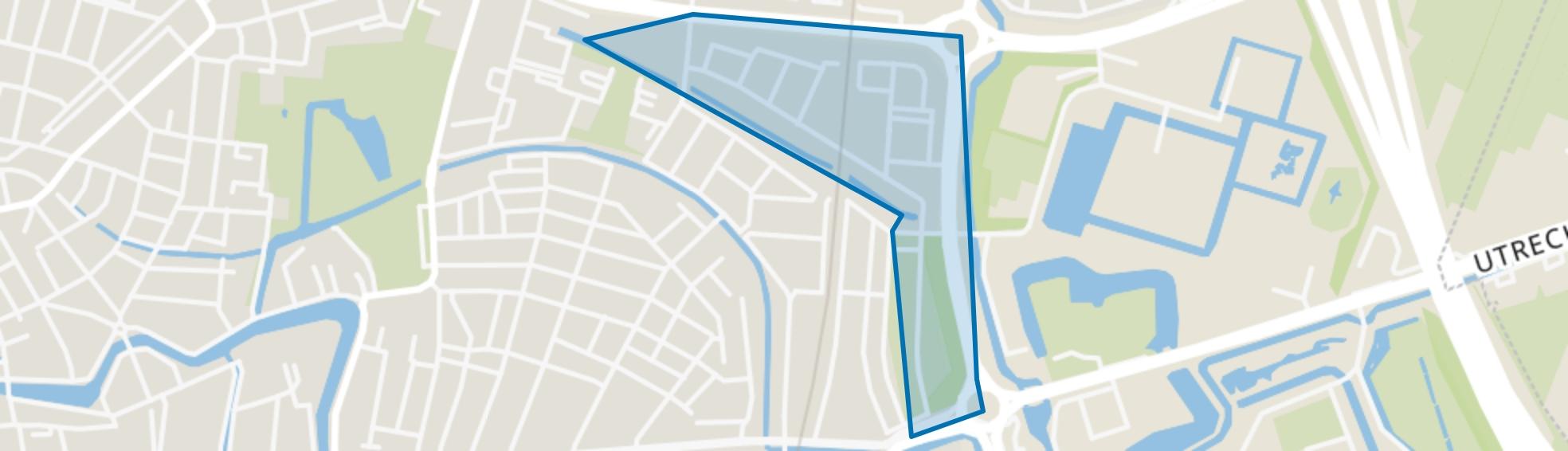 Huizingalaan, K. Doormanlaan en omgeving, Utrecht map