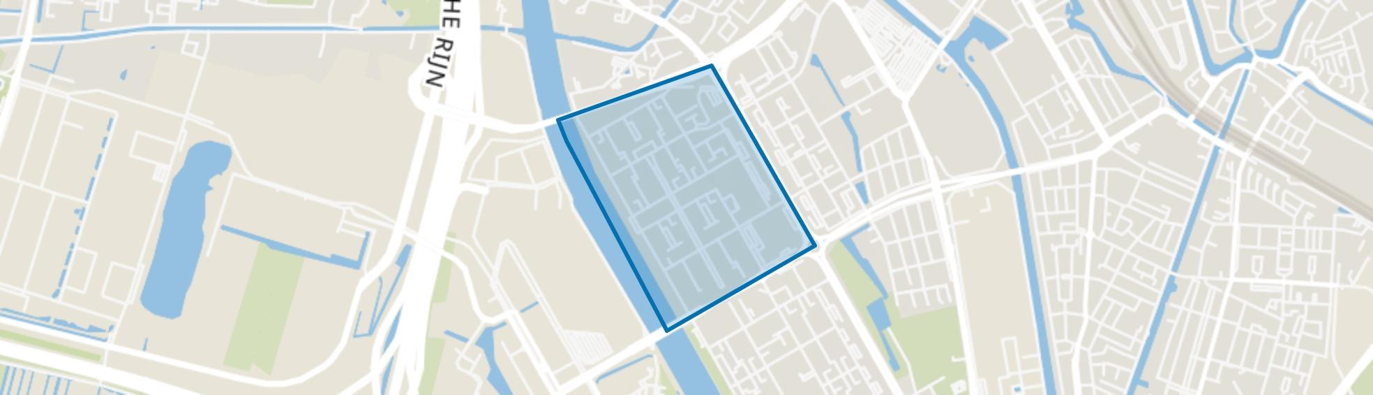 Kanaleneiland-Noord, Utrecht map