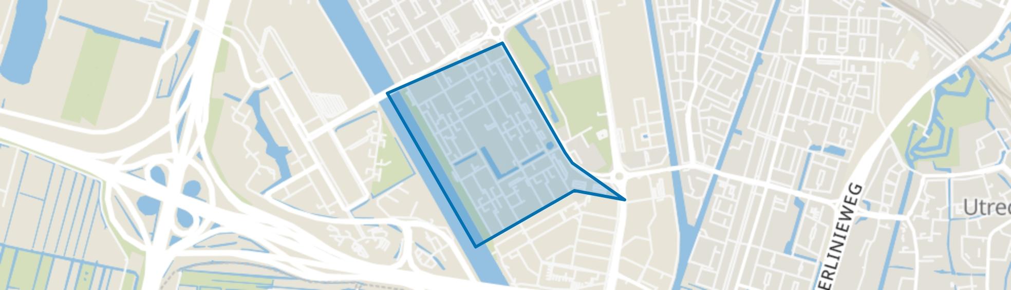 Kanaleneiland-Zuid, Utrecht map