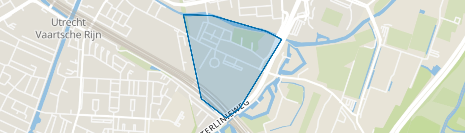 L. Napoleonplantsoen en omgeving, Utrecht map