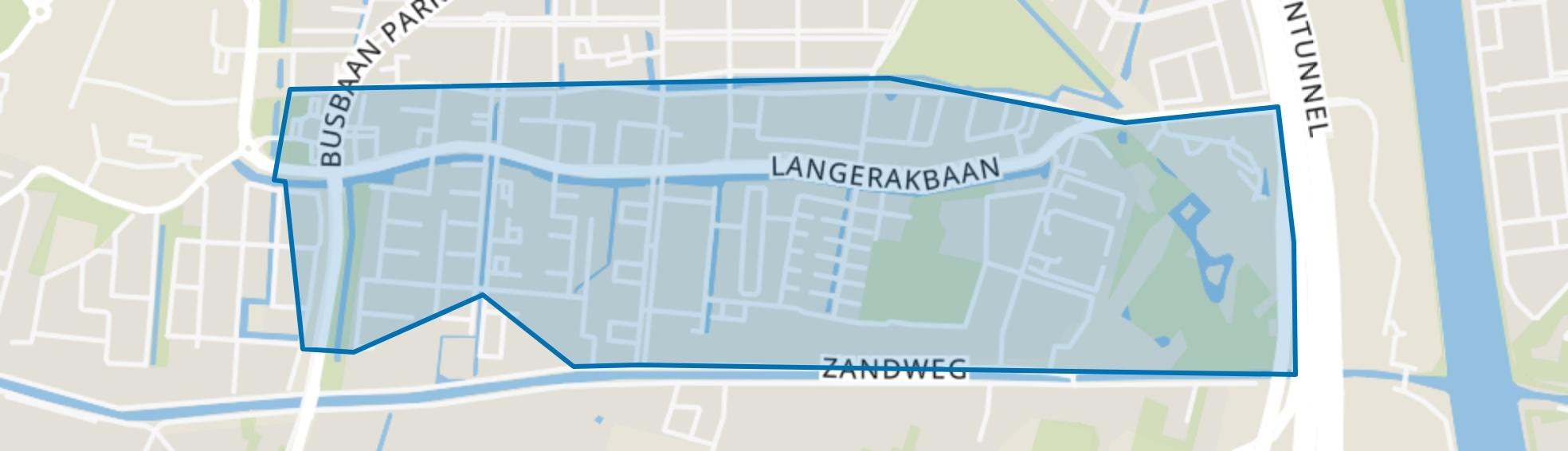 Langerak, Utrecht map