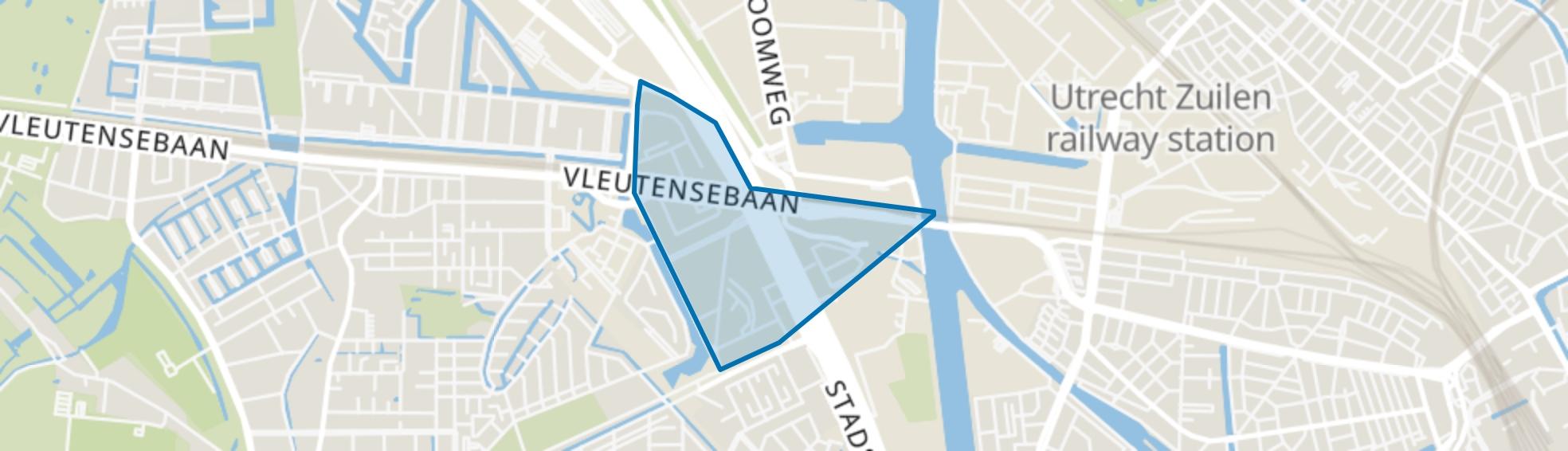 Leidsche Rijn-Centrum, Utrecht map