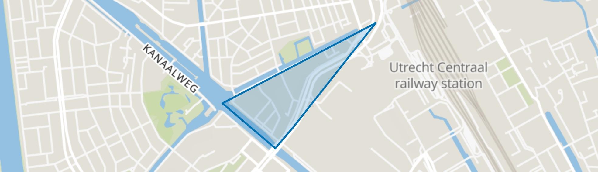 Leidseweg en omgeving, Utrecht map