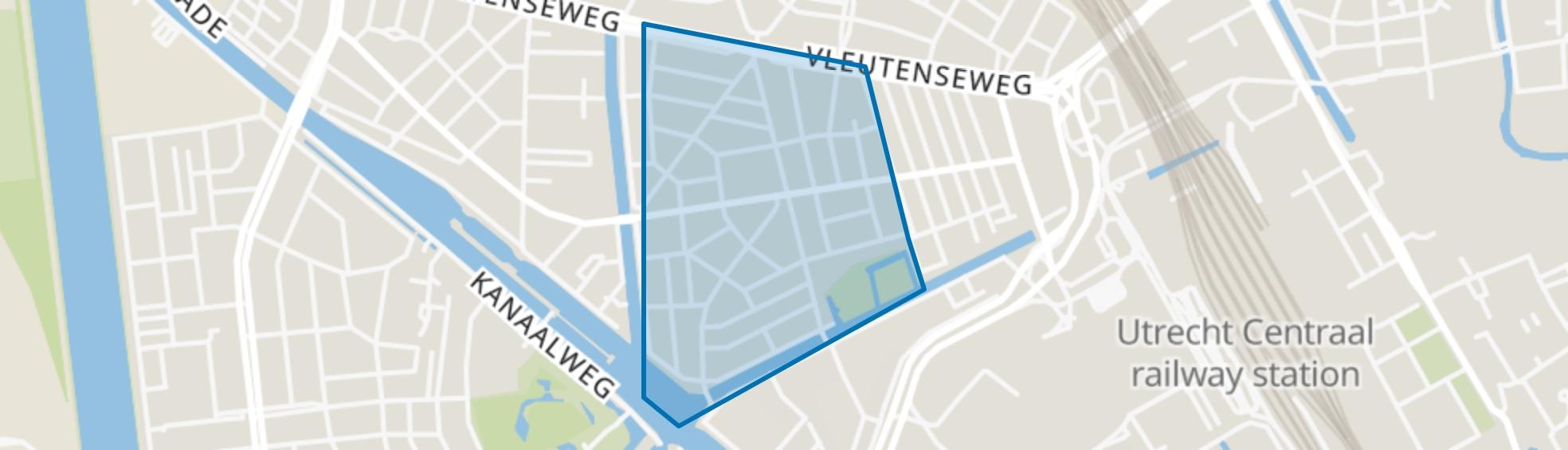 Lombok-West, Utrecht map