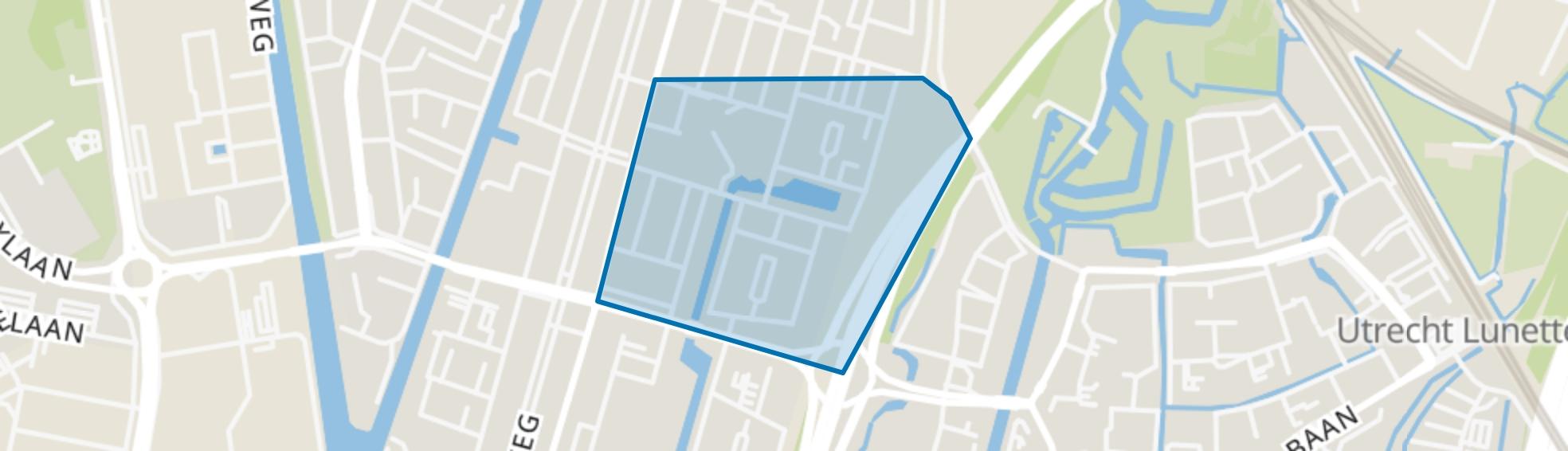 Nieuw Hoograven-Noord, Utrecht map