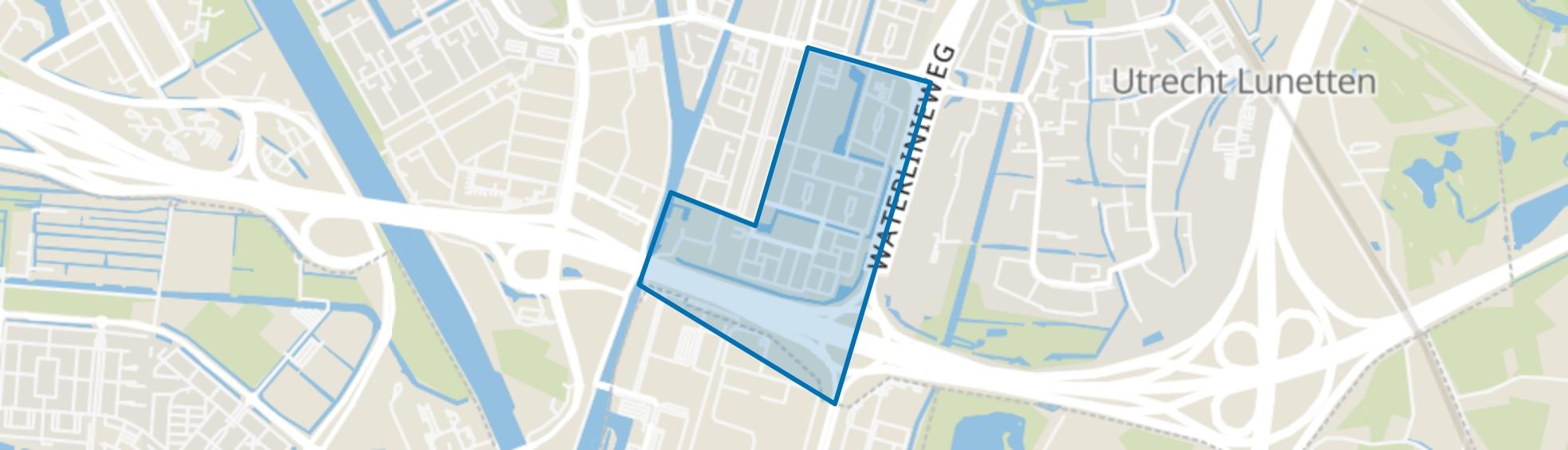 Nieuw Hoograven-Zuid, Utrecht map
