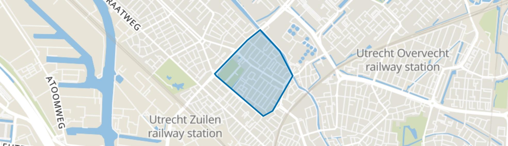 Ondiep, Utrecht map