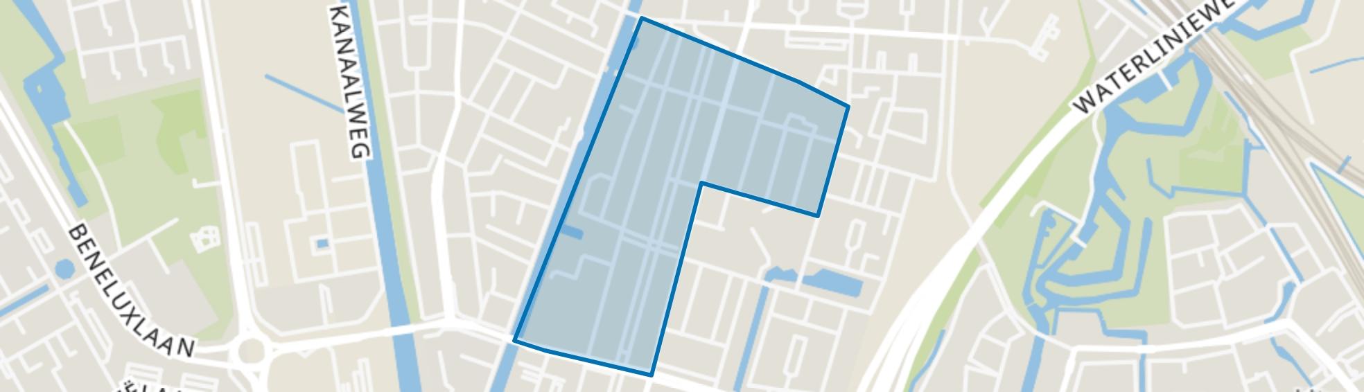 Oud Hoograven-Noord, Utrecht map