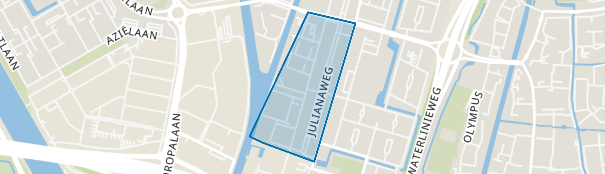 Oud Hoograven-Zuid, Utrecht map
