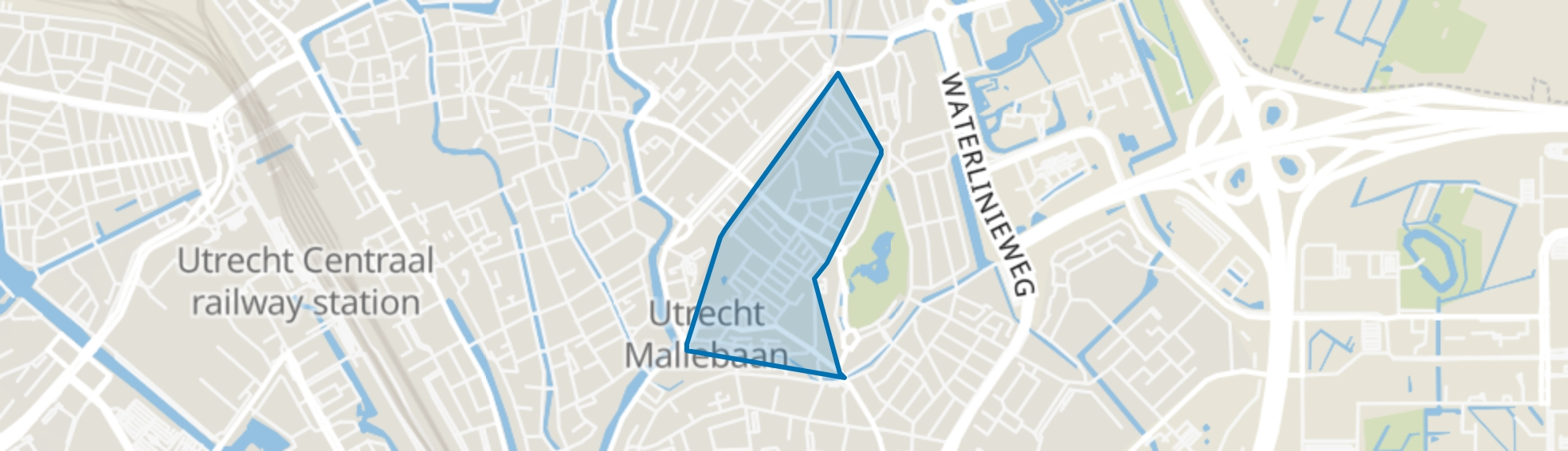 Oudwijk, Utrecht map