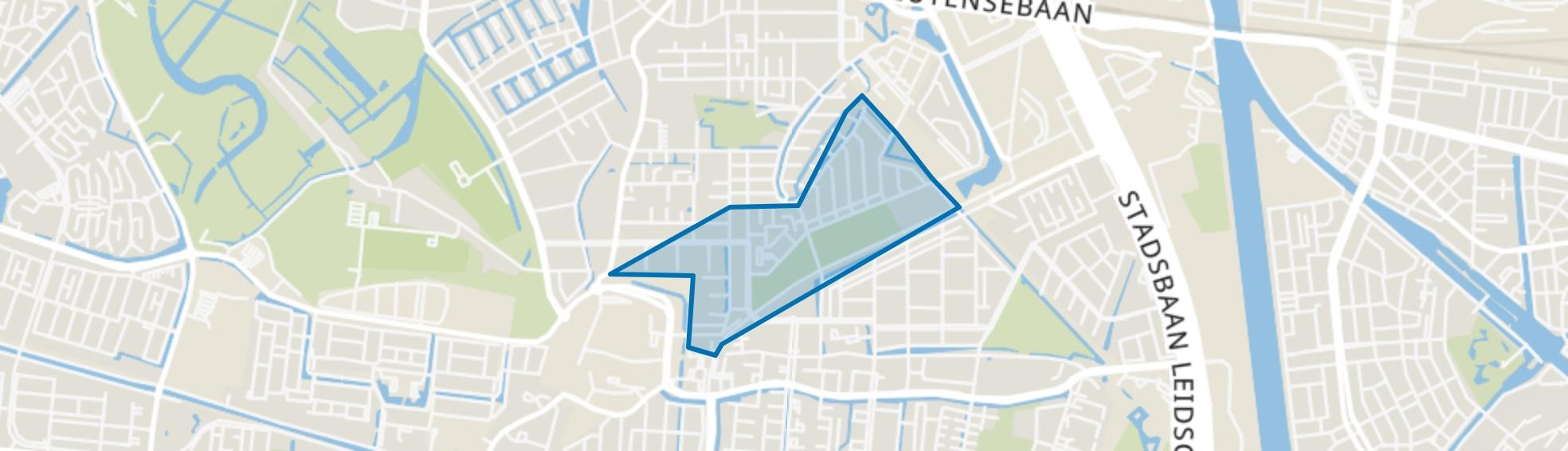 Parkwijk-Noord, Utrecht map