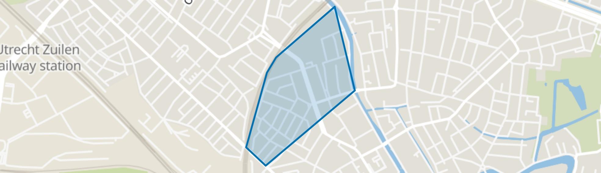 Pijlsweerd-Noord, Utrecht map
