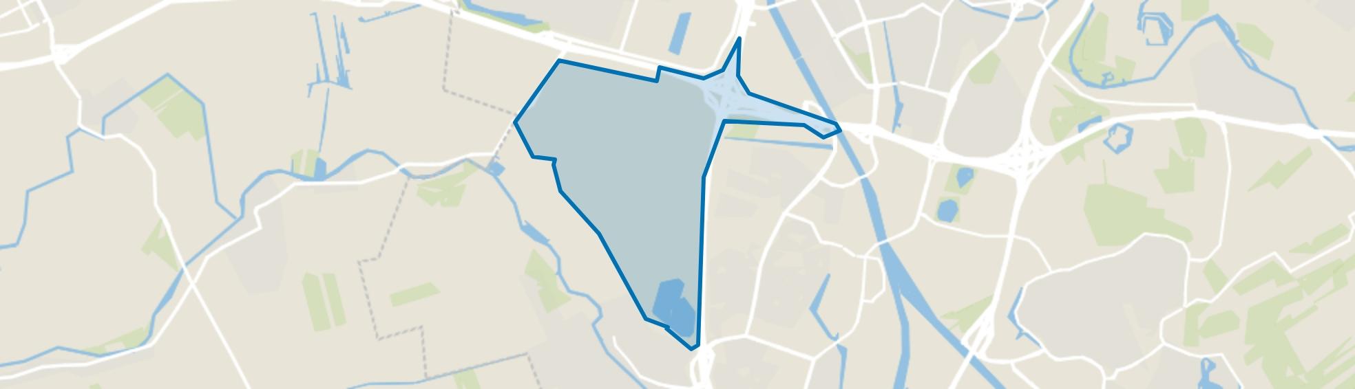 Rijnenburg, Utrecht map