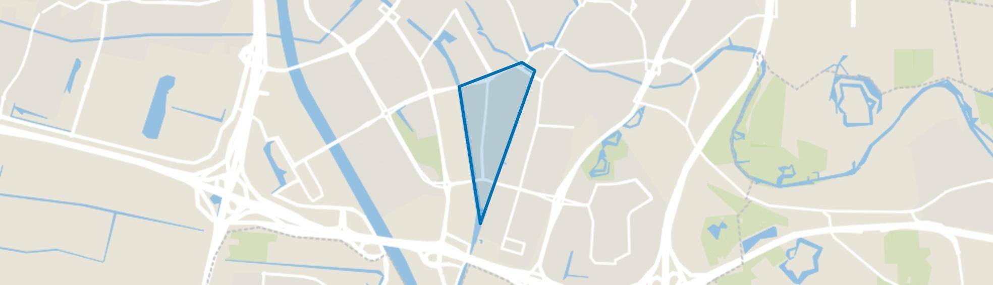 Rivierenwijk, Utrecht map