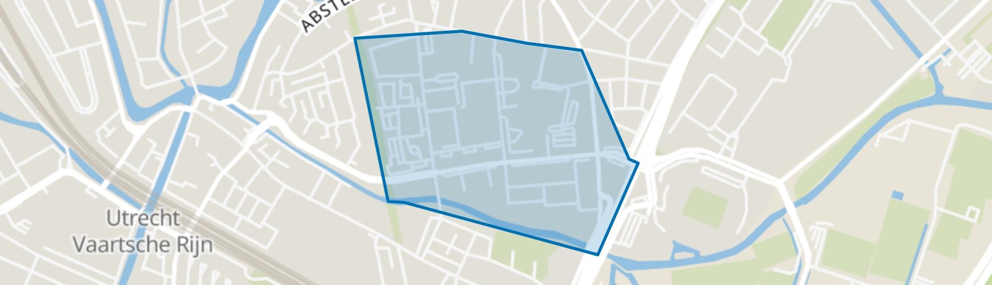 Rubenslaan en omgeving, Utrecht map
