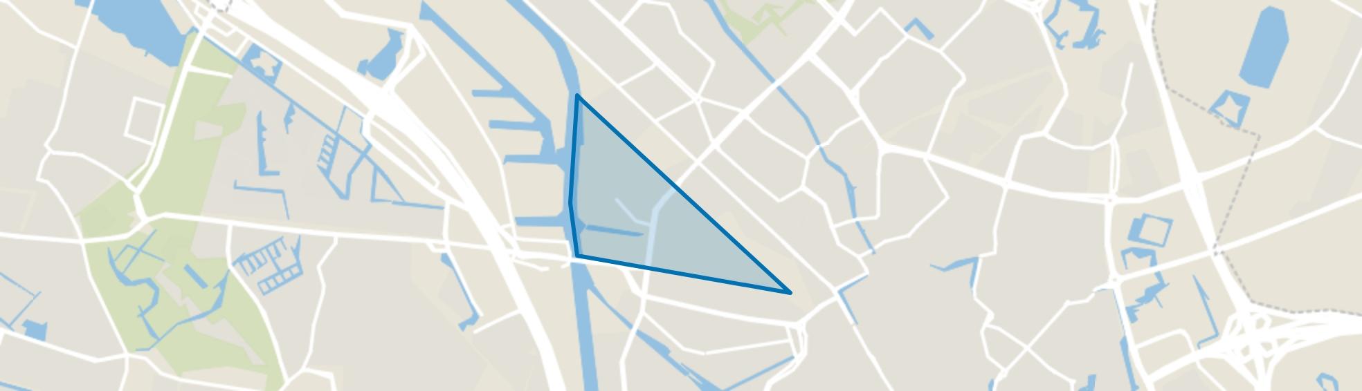 Schepenbuurt, Cartesiusweg e.o., Utrecht map