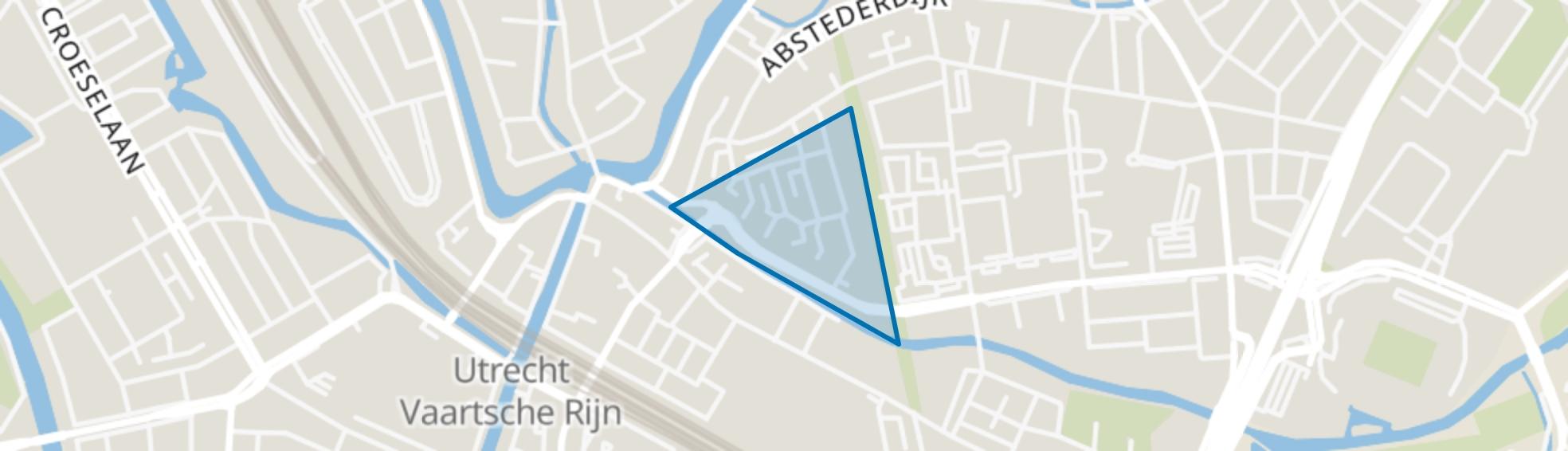 Sterrenwijk, Utrecht map