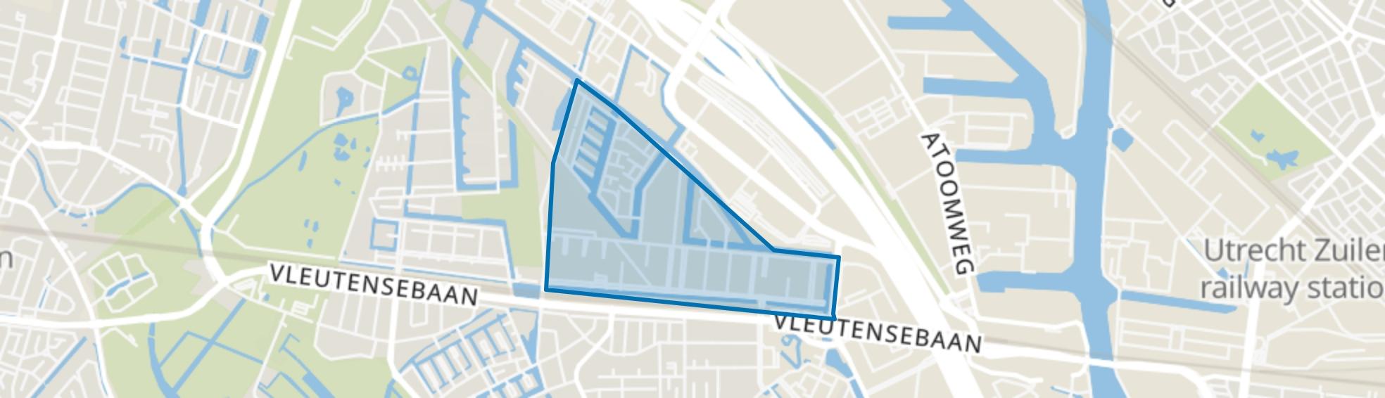 Terwijde-Oost, Utrecht map