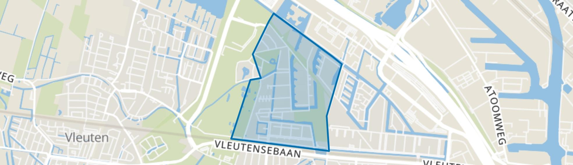 Terwijde-West, Utrecht map