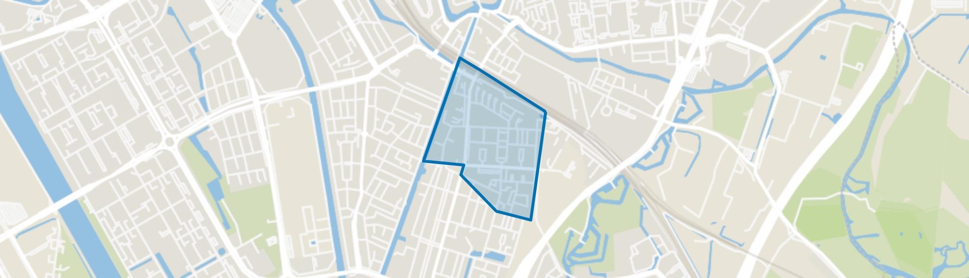 Tolsteeg en Rotsoord, Utrecht map