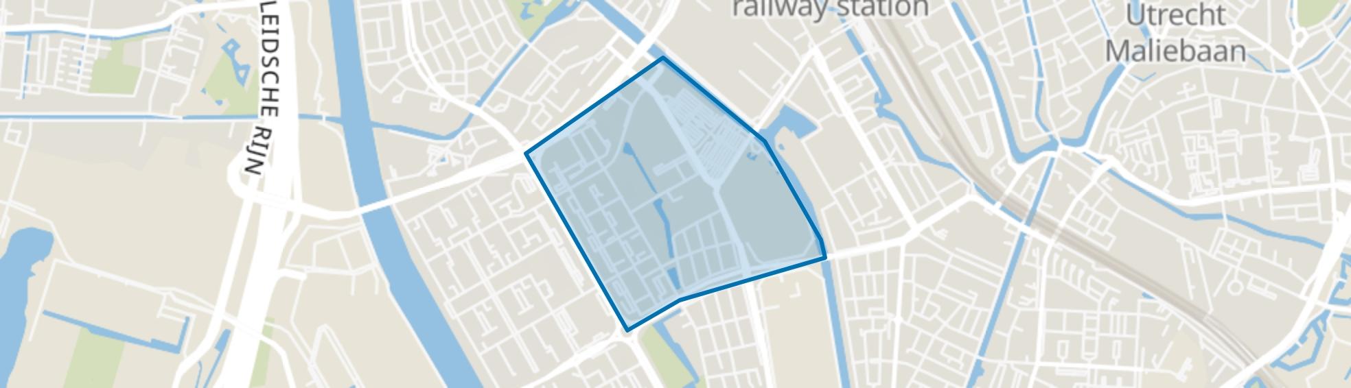 Transwijk-Noord, Utrecht map