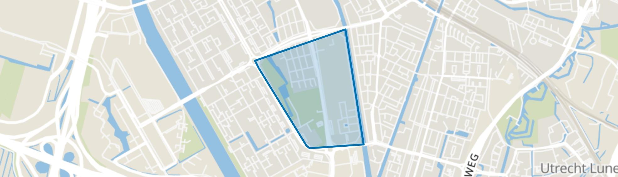 Transwijk-Zuid, Utrecht map