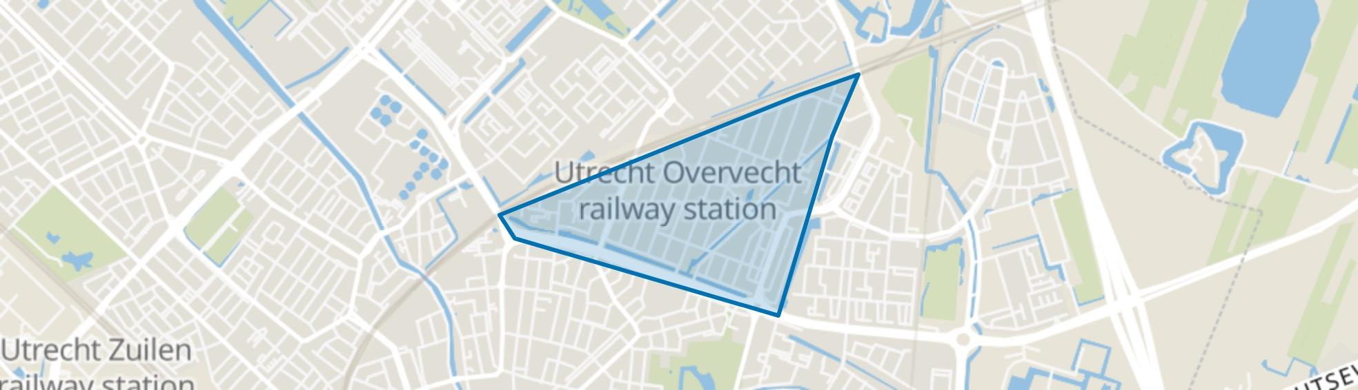 Tuindorp en Van Lieflandlaan-West, Utrecht map