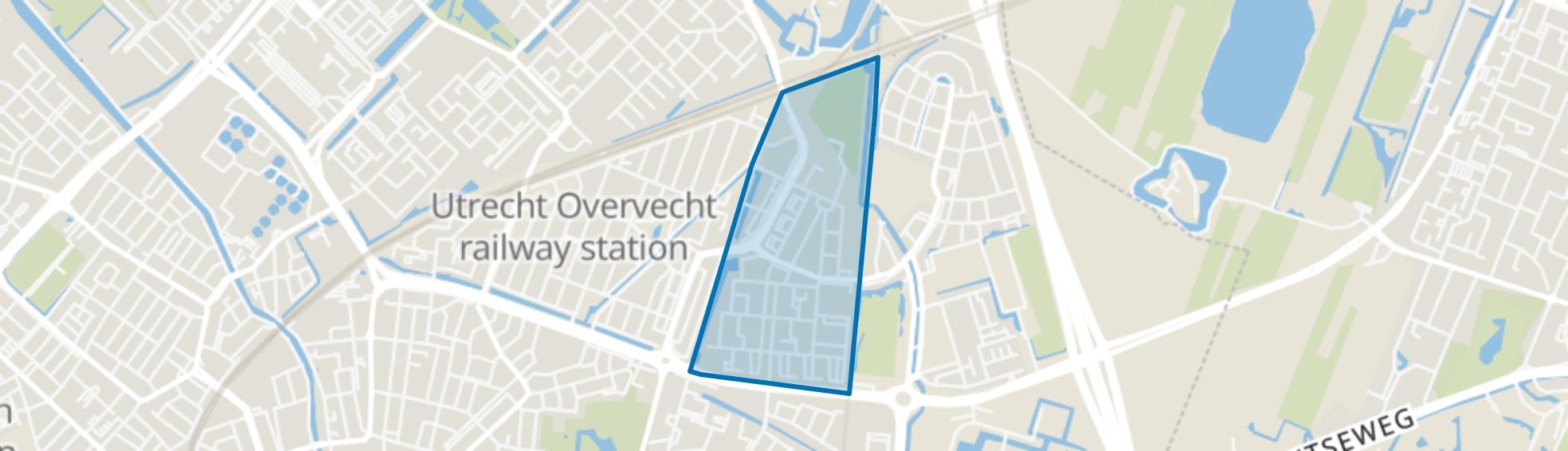 Tuindorp-Oost, Utrecht map
