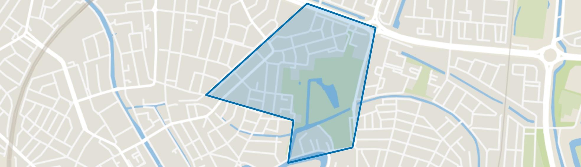 Tuinwijk-Oost, Utrecht map