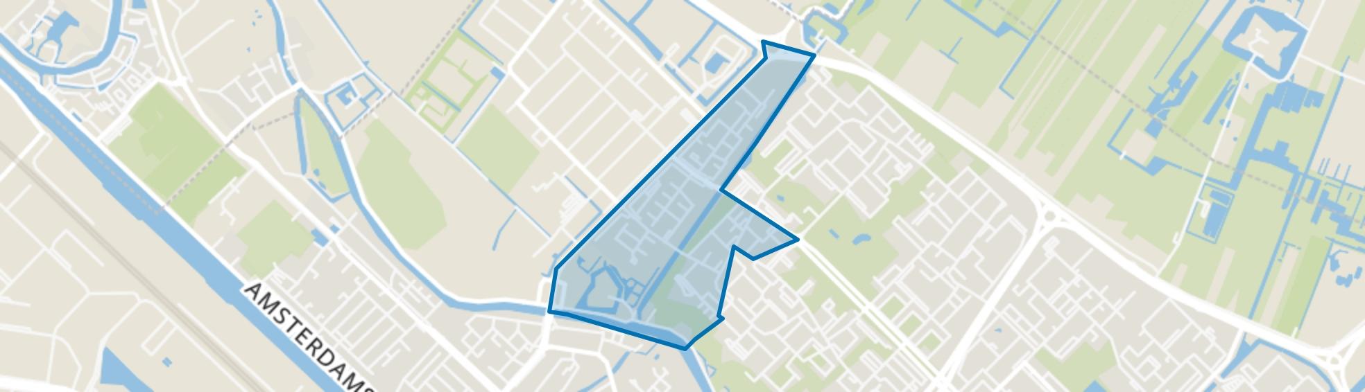 Vechtzoom-noord, Klopvaart, Utrecht map