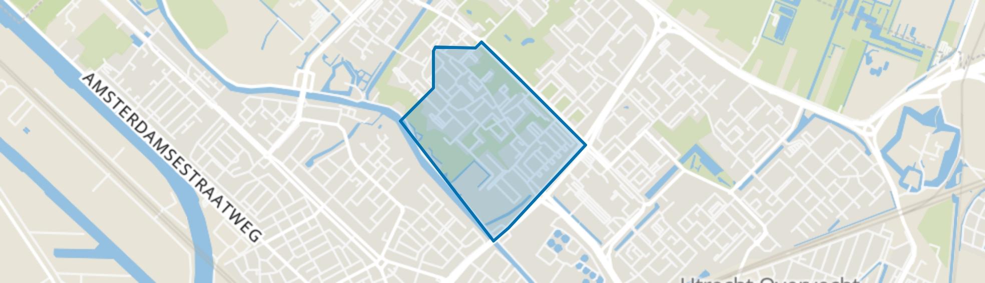 Vechtzoom-zuid, Utrecht map