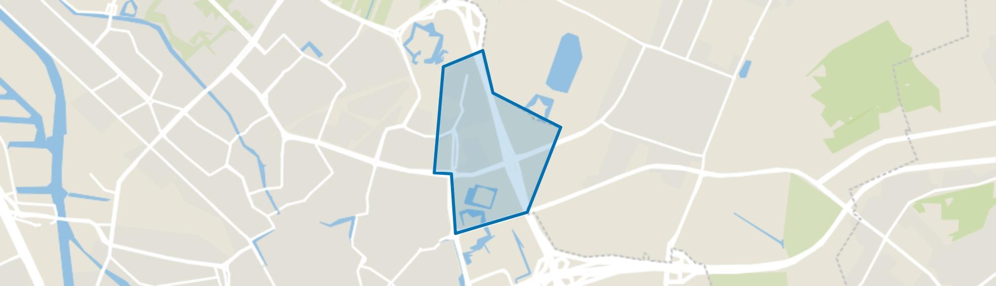 Voordorp en Voorveldsepolder, Utrecht map