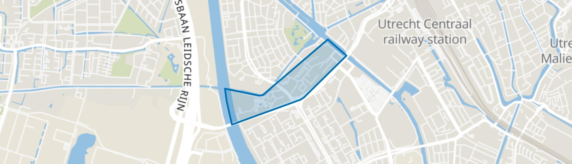 Welgelegen, Den Hommel, Utrecht map