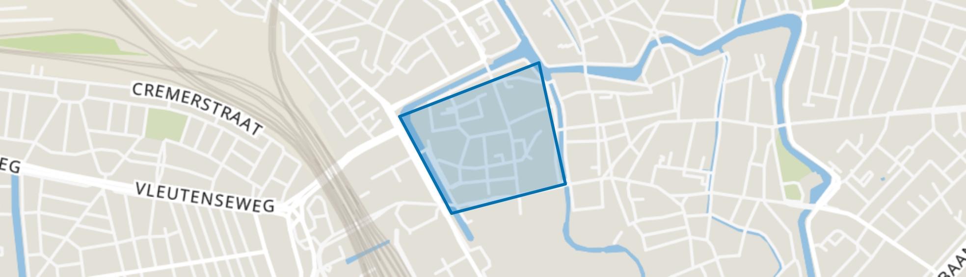 Wijk C, Utrecht map