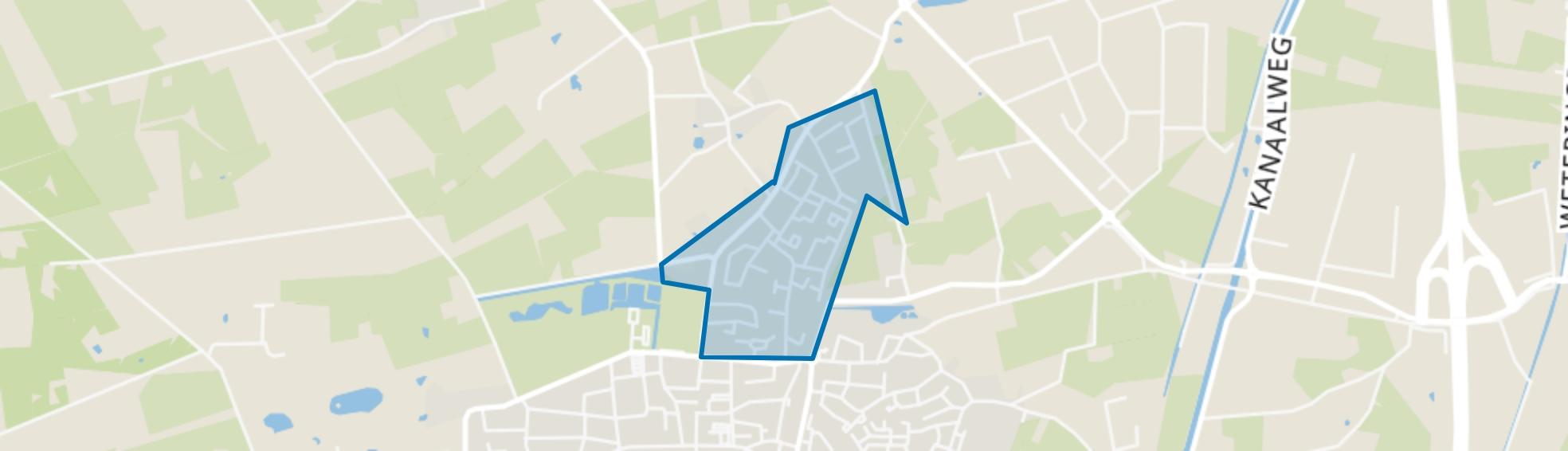 Heggerenk, Vaassen map