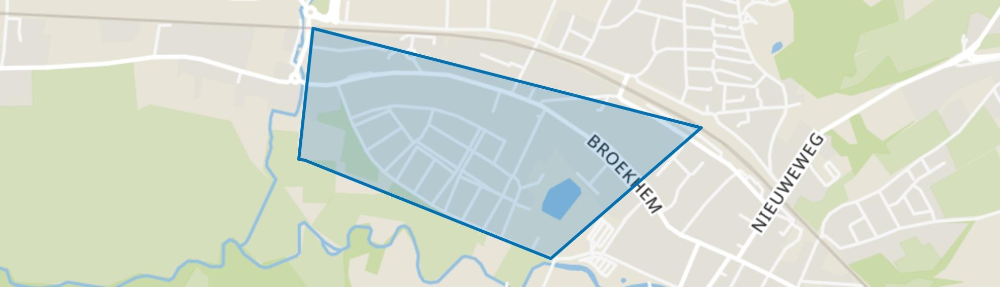 Broekhem Zuid, Valkenburg (LI) map