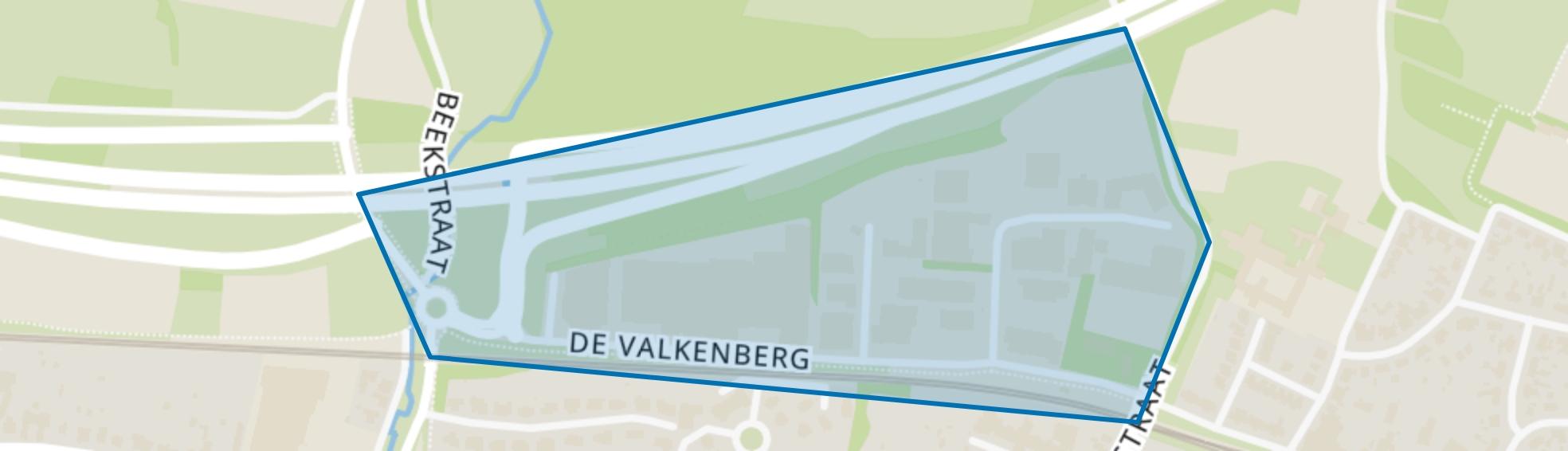 De Valkenberg, Valkenburg (LI) map