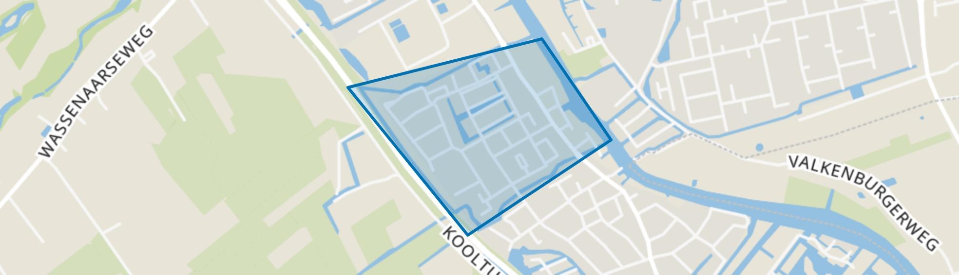 't Joght, Valkenburg (ZH) map