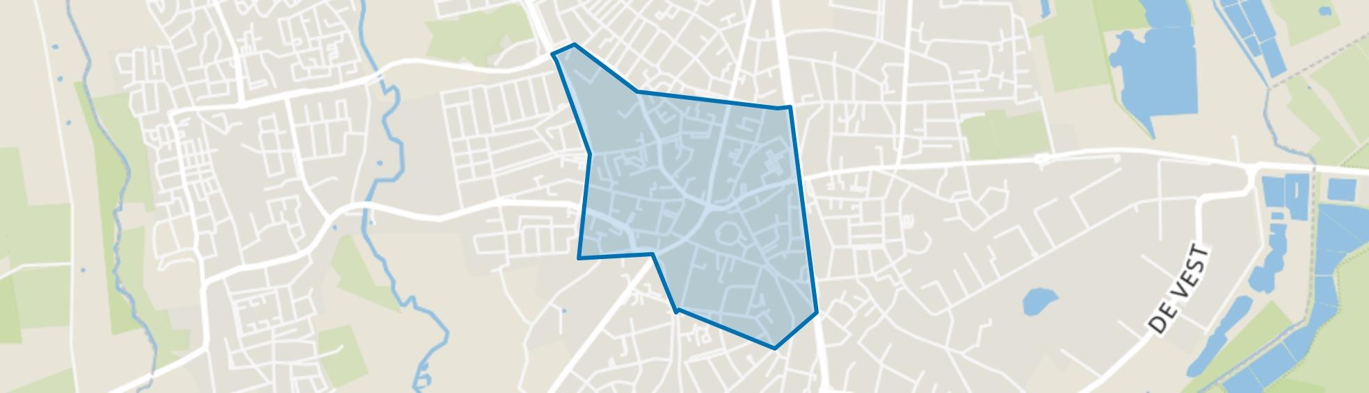 Centrum, Valkenswaard map