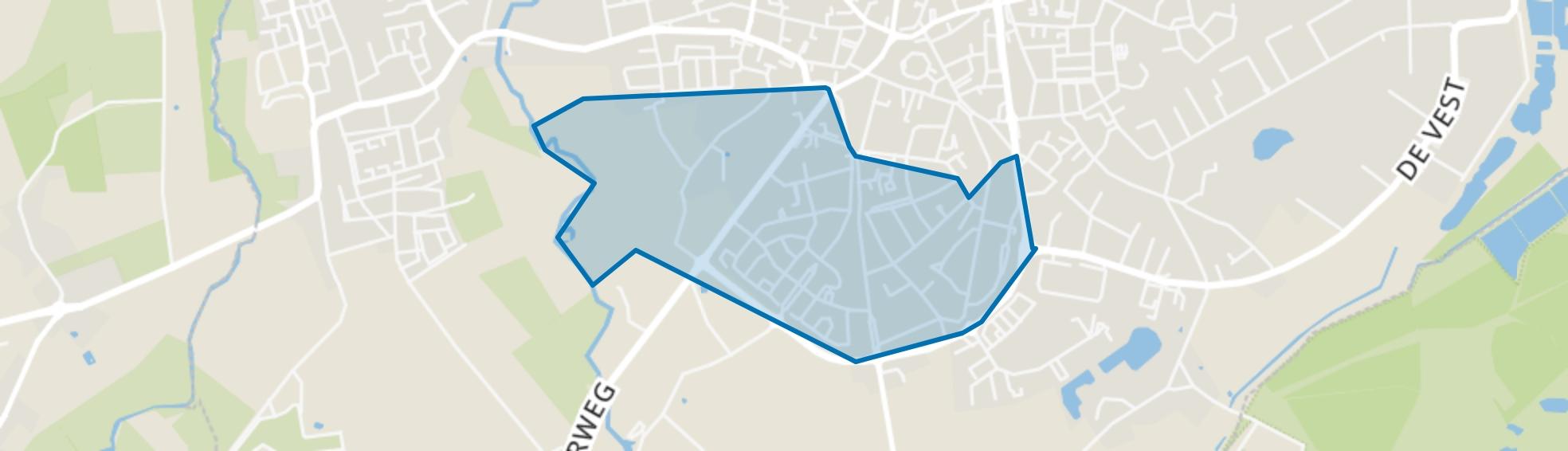 Hoge Akkers, Valkenswaard map