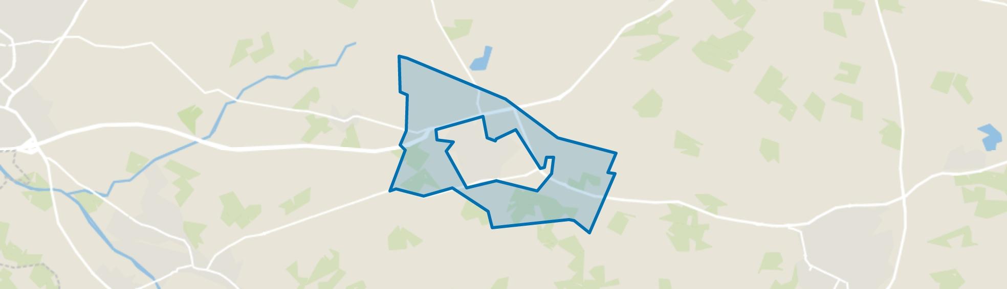 Verspreide huizen Varsseveld, Varsseveld map