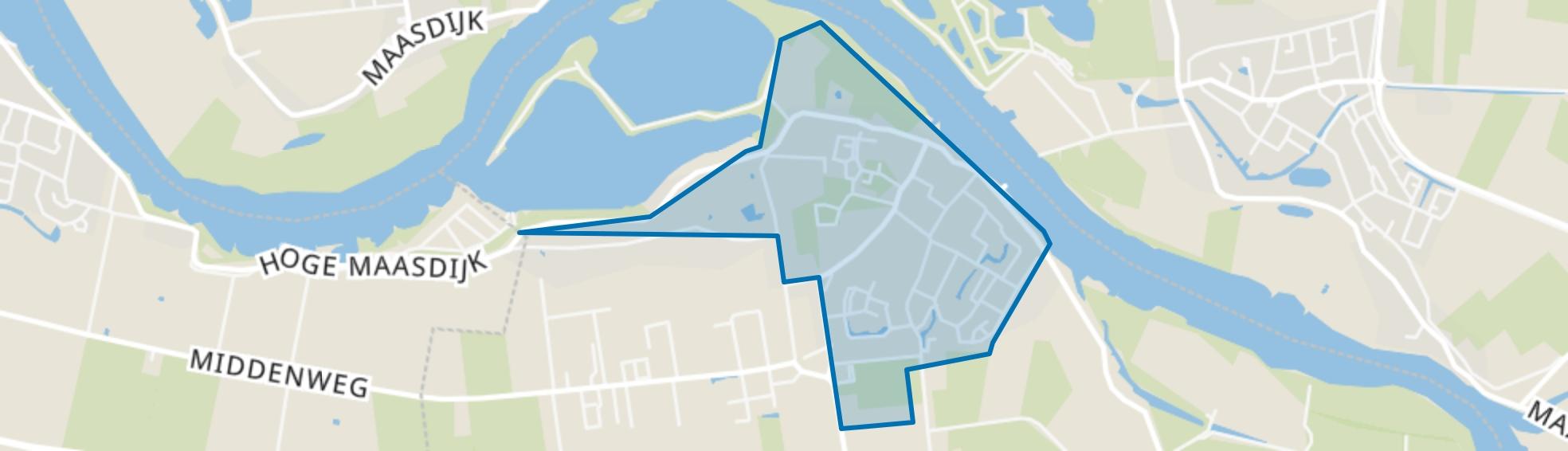 Veen, Veen map