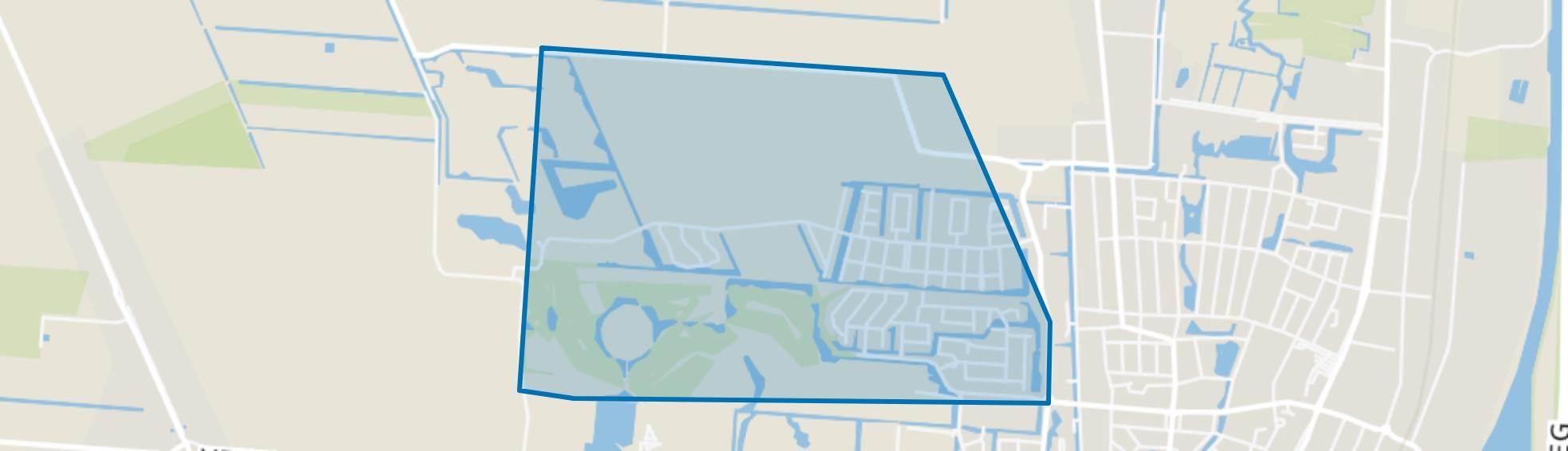 Buitenwoel, Veendam map