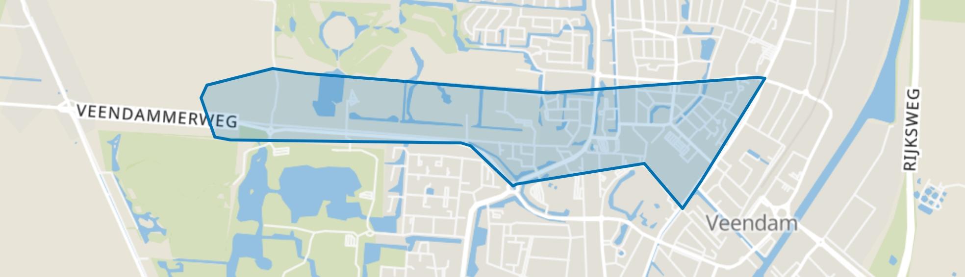 Veendam-Centrum, Veendam map